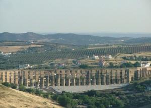 The Amoreira Aqueduct