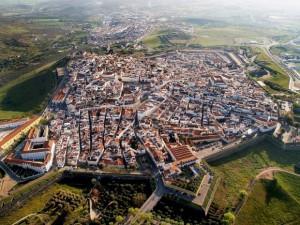 The garrison border town of Elvas