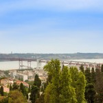 Panoramic views over the Tagus Estuary