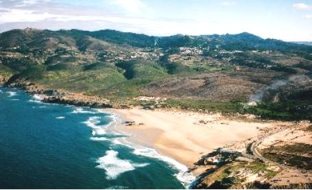 Guincho beach scenery